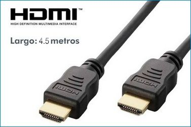CABLE HDMI 1.4 - 4.5 metros
